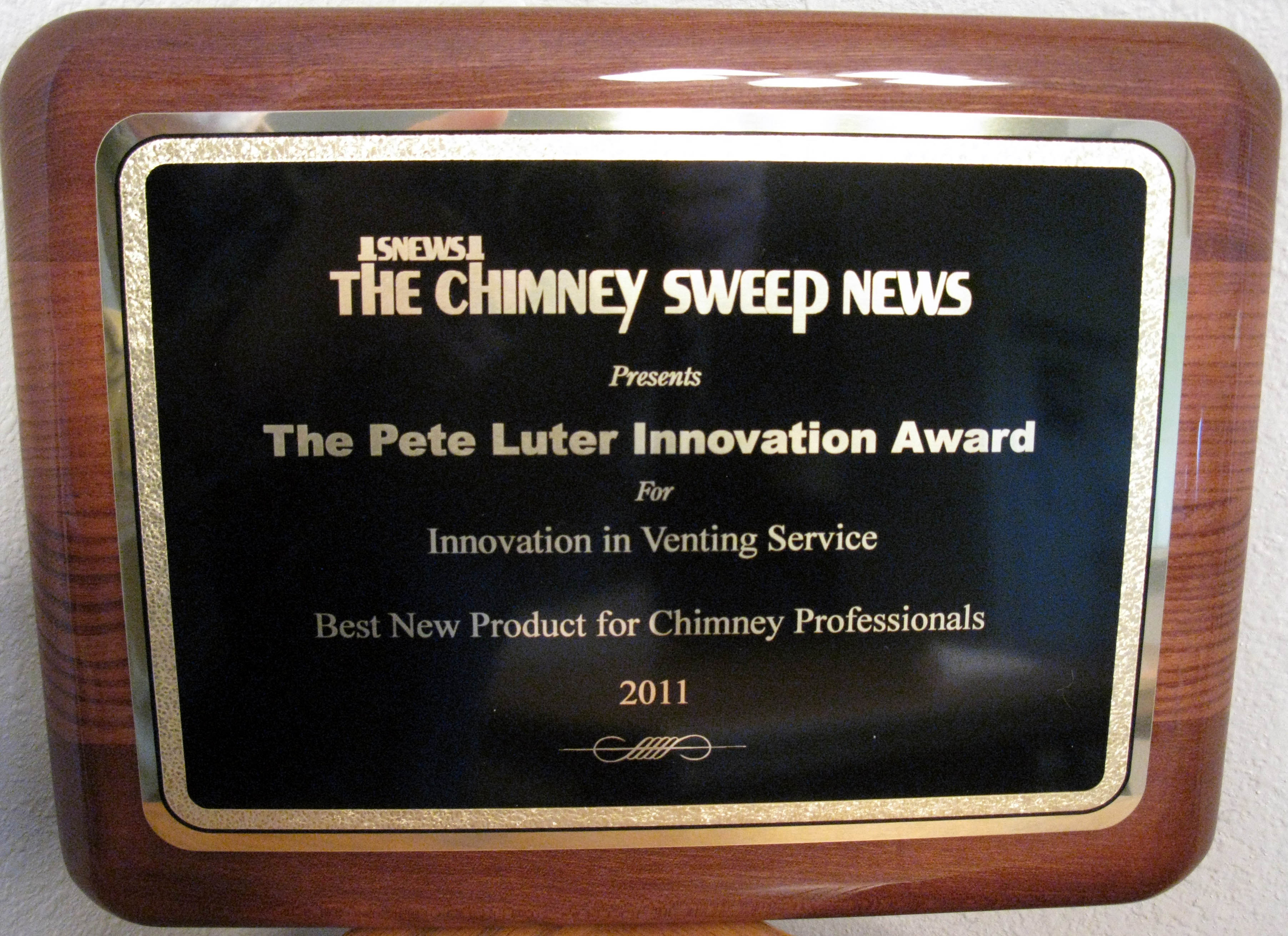 The Pete Luter Innovation Awards Sponsored By The Chimney
